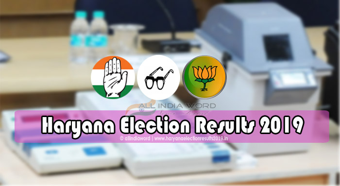 Haryana Election 2019 Results Live Vote Counting - Assembly Polls